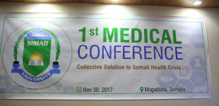 SIMAD University hosts the first medical conference in Mogadishu.