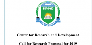 Research Grants: Call for Applications 2019