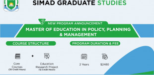 SIMAD Graduate Studies Introduces Master of Education in Policy, Planning & Management