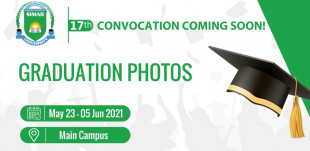 17th Convocation | Announcements & Information