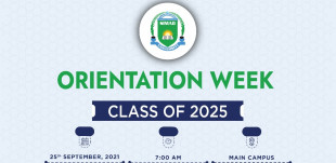 Orientation Week for the Class of 2025