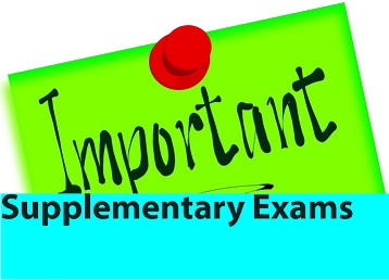 Notification For Supplementary Exams | SIMAD UNIVERSITY