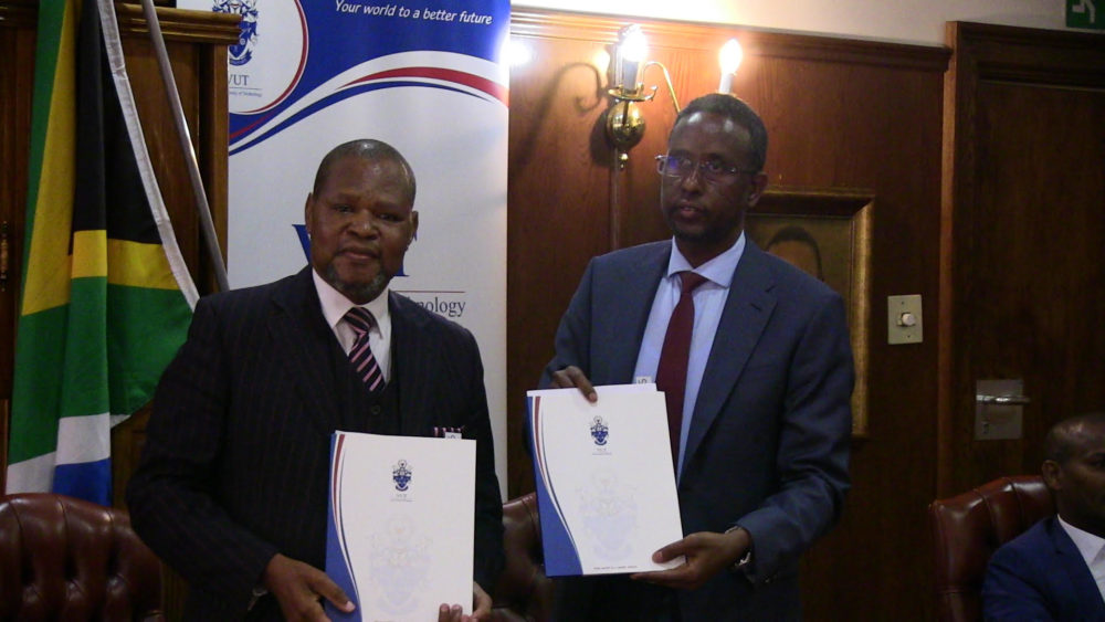 SIMAD Signs MoU With Vaal University of Technology