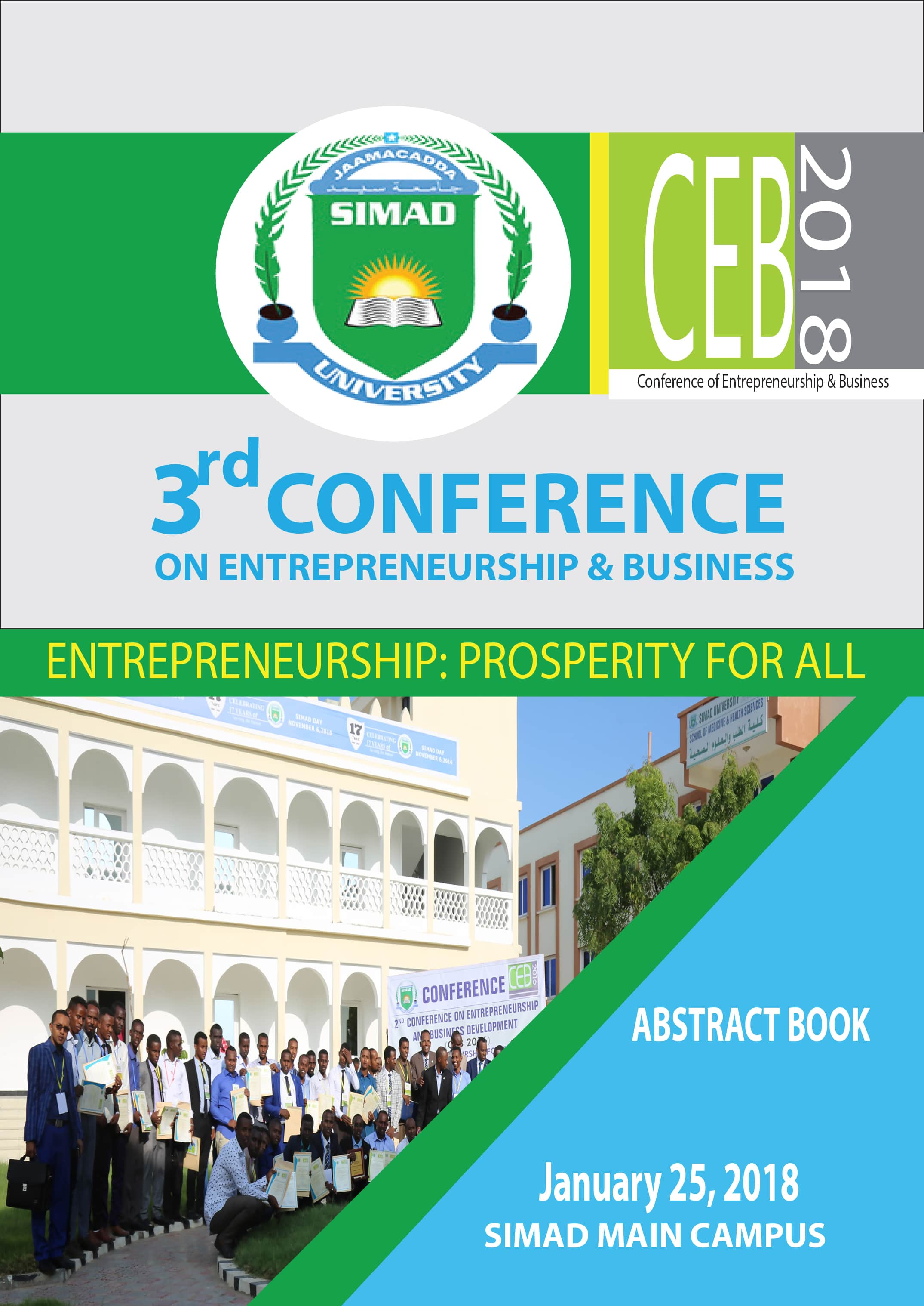 Download the Abstract Book for the CEB Conference 2018
