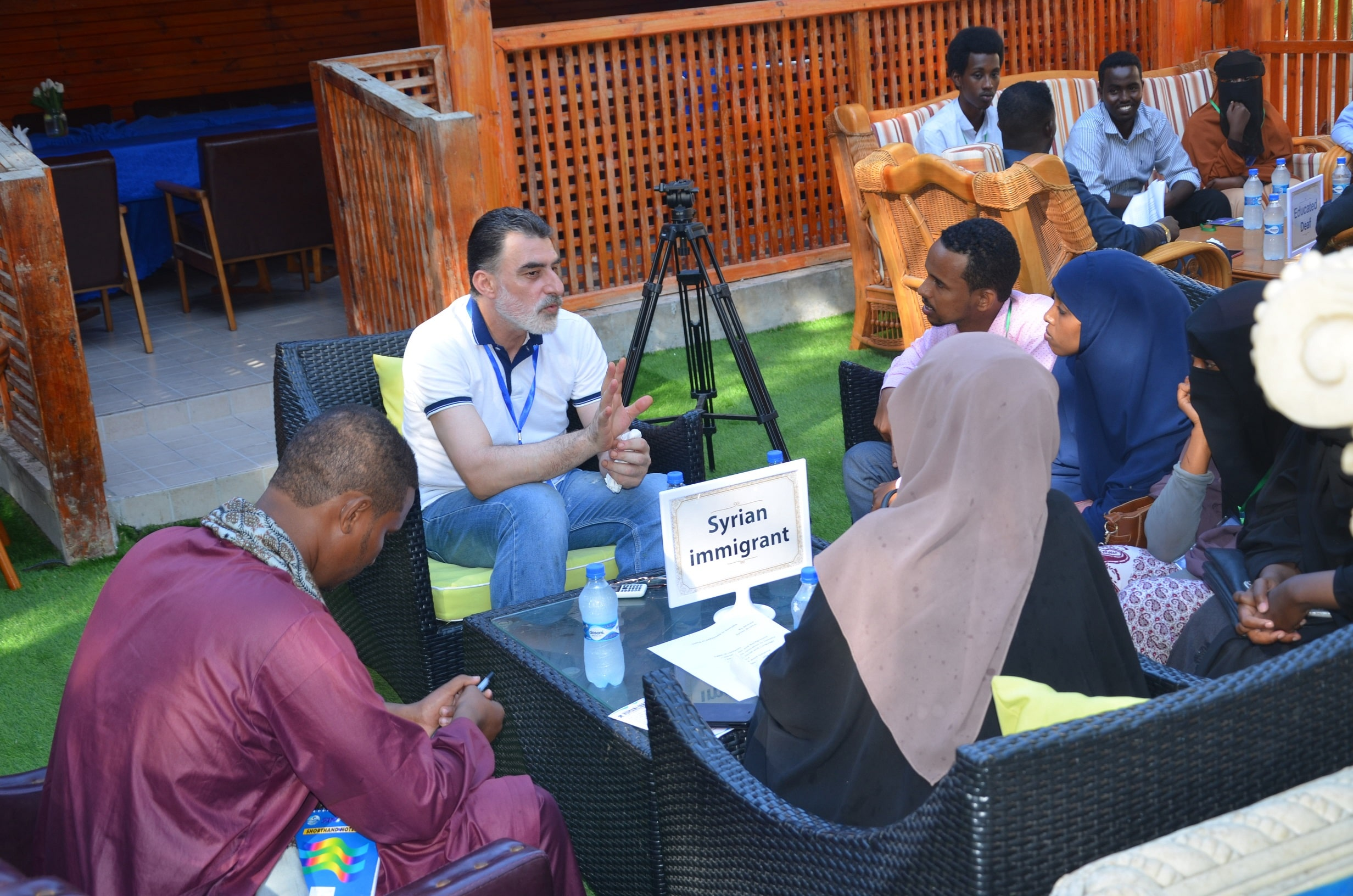 Human Library Returns to SIMAD in the second Year