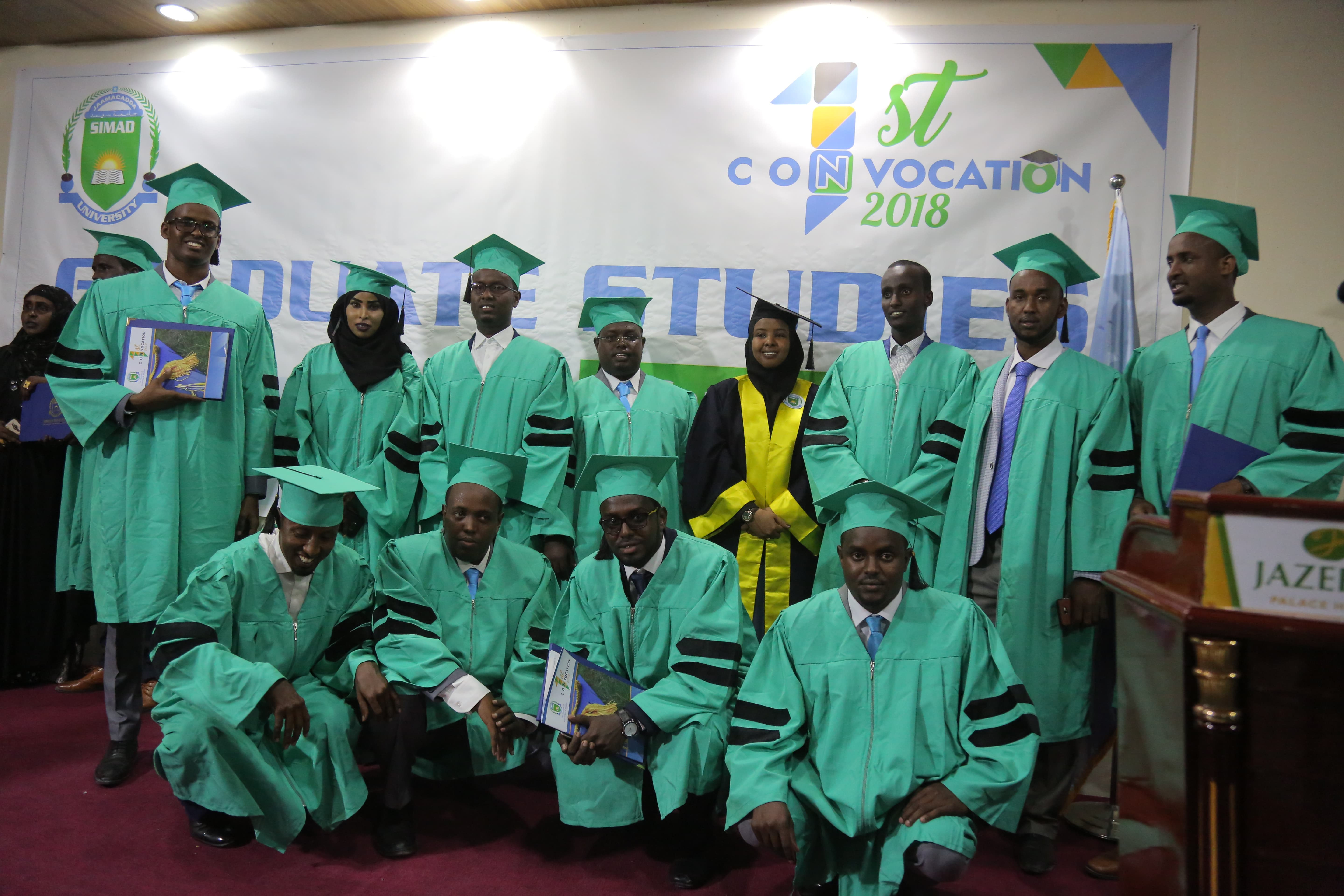 First Convocation of SIMAD Graduate studies