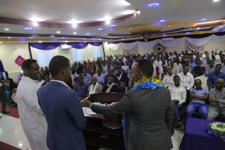 Saed Mohamed Abdi Wins SU Alumni Elections