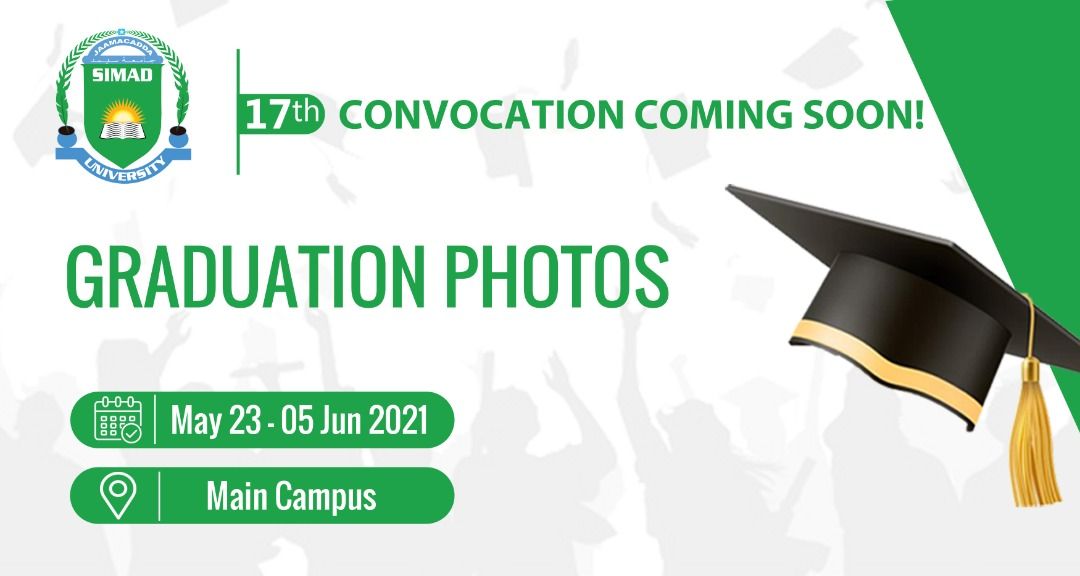 17th Convocation   Announcements & Information