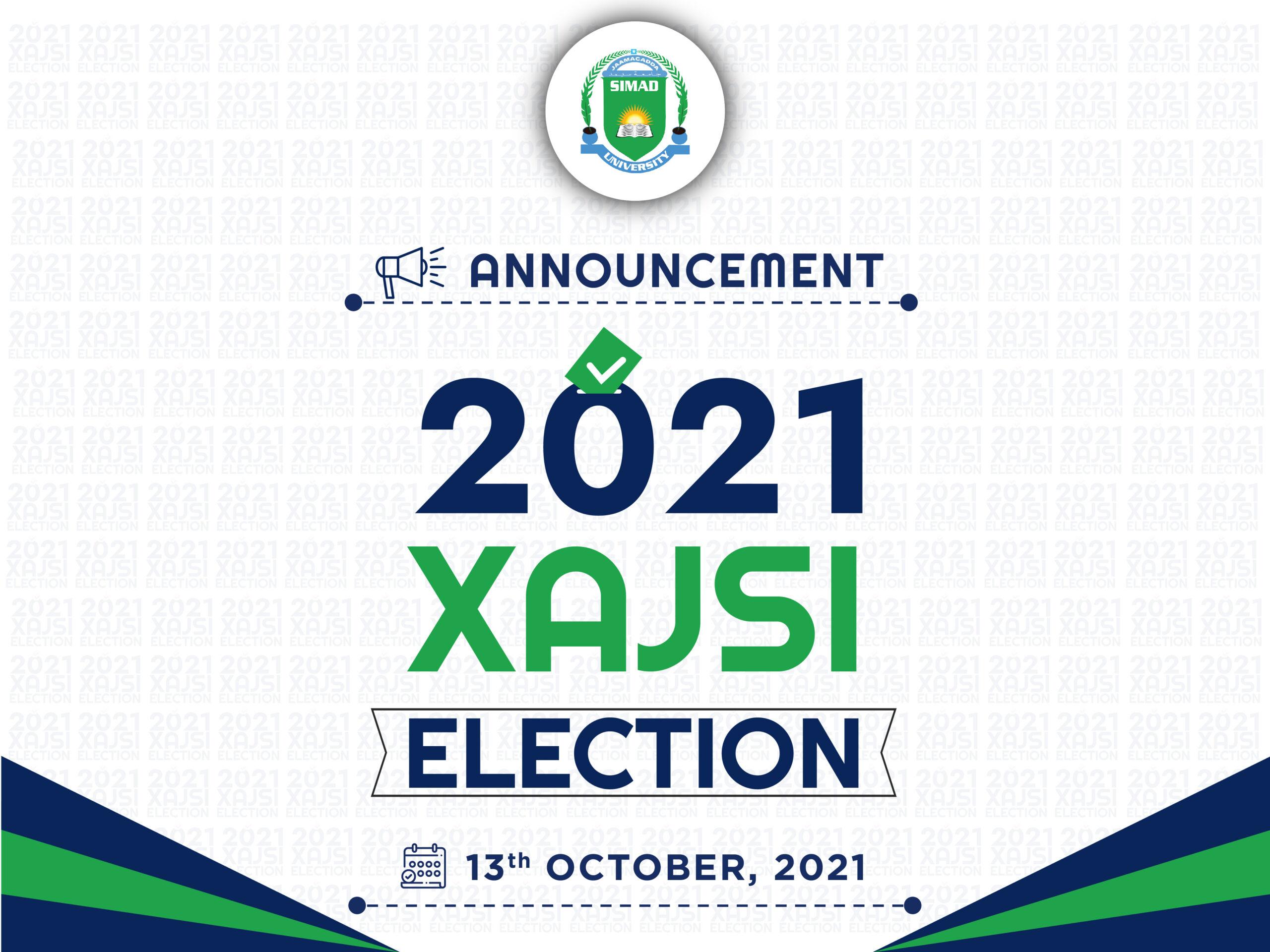 XAJSi Election | Announcement